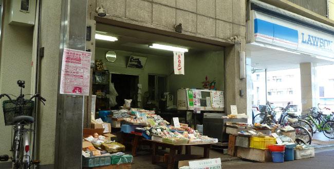 京都三条会商店街|食料品・銭屋