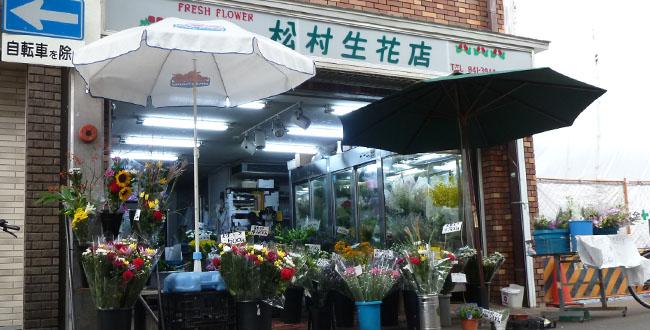 京都三条会商店街|松村生花店