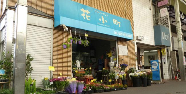 京都三条会商店街|花小町