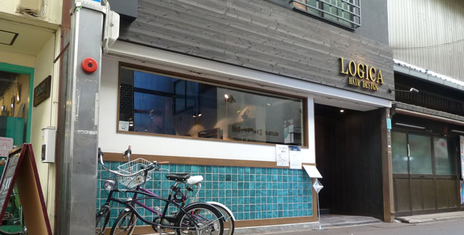 京都三条会商店街|LOGICA HAIR DESIGN
