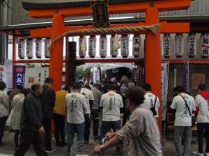 蘇民将来祈願祭|平安女学院の奉納演奏|京都三条会商店街4月のイベントその3